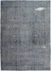 Colored Vintage Rug 240X327 Authentic  Modern Handknotted Dark Grey/Light Blue (Wool, Pakistan)