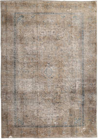 Colored Vintage Tapis 230X331 Moderne Fait Main Marron Clair/Gris Clair (Laine, Pakistan)