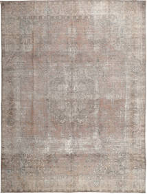 Colored Vintage Rug 296X388 Authentic  Modern Handknotted Light Grey/Light Brown Large (Wool, Pakistan)