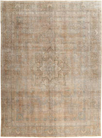 Vintage Rug 286X381 Authentic  Modern Handknotted Light Brown/Light Grey Large (Wool, Pakistan)