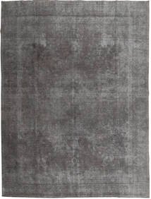 Colored Vintage Rug 290X373 Authentic  Modern Handknotted Dark Grey/Light Grey Large (Wool, Pakistan)