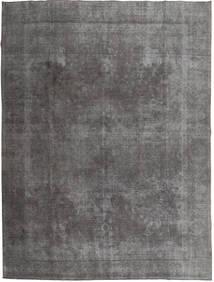 Colored Vintage Covor 290X373 Modern Lucrat Manual Gri Închis/Gri Deschis Mare (Lână, Pakistan)