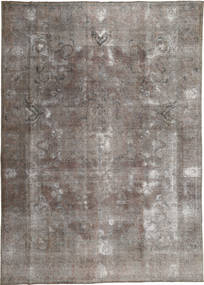 Colored Vintage Rug 278X385 Authentic  Modern Handknotted Light Grey/Dark Grey Large (Wool, Pakistan)