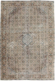 Vintage Rug 192X280 Authentic  Modern Handknotted Light Brown/Light Grey (Wool, Pakistan)