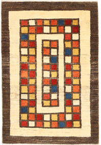 Gabbeh Persia Rug 82X117 Authentic  Modern Handknotted Yellow/Brown (Wool, Persia/Iran)