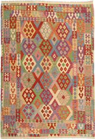 Kelim Afghan Old style matta AXVZX5512