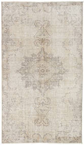 Colored Vintage Rug 113X200 Authentic  Modern Handknotted Light Grey (Wool, Turkey)
