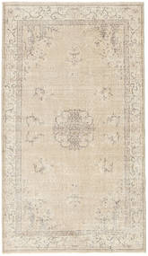 Colored Vintage Rug 117X206 Authentic Modern Handknotted Beige/Light Grey (Wool, Turkey)