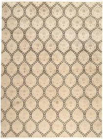 Tabriz Royal Tapis 269X363 D'orient Fait Main Marron Clair/Beige Grand ( Inde)