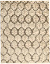 Tabriz Royal Matto 238X302 Itämainen Käsinsolmittu Vaaleanruskea/Beige ( Intia)