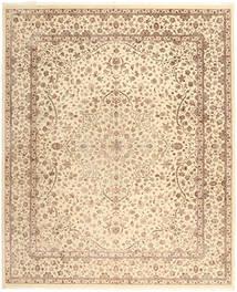 タブリーズ Royal 絨毯 248X358 オリエンタル 手織り ベージュ/薄茶色 ( インド)