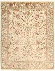 Tabriz Royal Rug 237X305 Authentic  Oriental Handknotted Light Brown/Beige ( India)