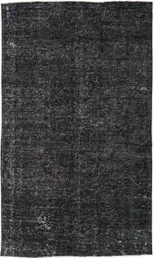 Colored Vintage Rug 144X246 Authentic  Modern Handknotted Black/Dark Grey (Wool, Turkey)