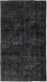 Colored Vintage Rug 143X256 Authentic  Modern Handknotted Dark Grey/Dark Blue (Wool, Turkey)