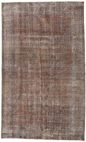Colored Vintage Rug 150X252 Authentic  Modern Handknotted Light Brown/Brown (Wool, Turkey)