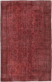 Colored Vintage Covor 162X262 Modern Lucrat Manual Roșu-Închis/Maro (Lână, Turcia)
