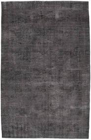 カラード ヴィンテージ 絨毯 203X313 モダン 手織り 濃いグレー/黒 (ウール, トルコ)