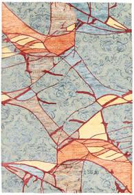 Jakart Килим Ковер 162X232 Современный Светло-Серый/Бежевый (Шерсть/Бамбук Шелк, Индия)