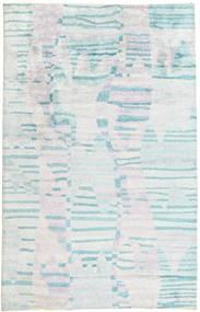 Handtufted Tæppe 150X234 Moderne Beige/Hvid/Creme/Lyseblå (Uld, Indien)
