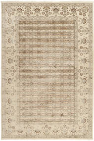 Tabriz Royal Rug 199X300 Authentic  Oriental Handknotted Beige/Light Grey ( India)