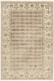 Tabriz Royal Teppe 199X300 Ekte Orientalsk Håndknyttet Lysbrun/Beige ( India)