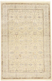 タブリーズ Royal 絨毯 156X240 オリエンタル 手織り ベージュ/薄茶色 ( インド)