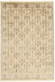 Tabriz Royal Matto 184X271 Itämainen Käsinsolmittu Vaaleanruskea/Beige ( Intia)