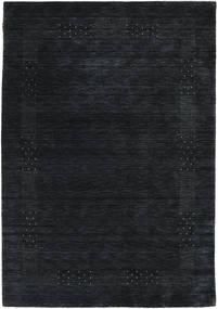 Loribaf Loom Beta - Musta/Harmaa Matto 160X230 Moderni Musta (Villa, Intia)