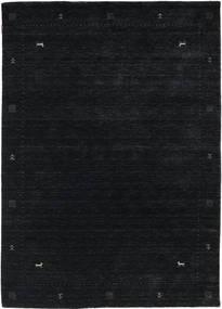 Loribaf Loom Zeta - Black/Grey Rug 160X230 Modern Black (Wool, India)
