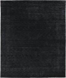 Loribaf Loom Beta - Svart/Grå Teppe 240X290 Moderne Mørk Blå (Ull, India)