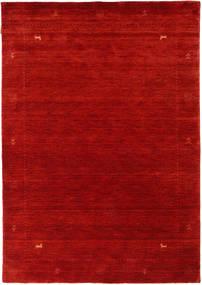 Loribaf Loom Zeta - Röd Matta 140X200 Modern Roströd/Mörkröd (Ull, Indien)