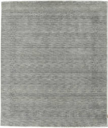 Loribaf Loom Beta - Grey Rug 160X230 Modern Light Grey/Turquoise Blue (Wool, India)