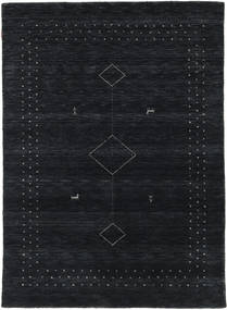Loribaf Loom Alfa - Schwarz / grau Teppich CVD17985