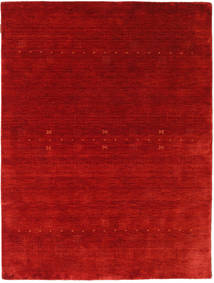 Loribaf Loom Eta - Czerwony Dywan 140X200 Nowoczesny Rdzawy/Czerwony/Ciemnoczerwony (Wełna, Indie)