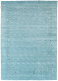 Loribaf ルーム Beta - 水色 絨毯 160X230 モダン 青/ターコイズブルー (ウール, インド)