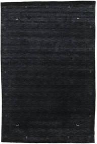 Loribaf Loom Zeta - Schwarz/Grau Teppich  190X290 Moderner Dunkelblau (Wolle, Indien)
