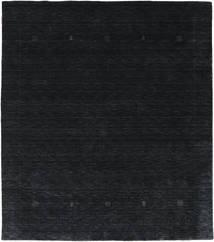 Loribaf Loom Giota - Sort / Grå tæppe CVD17993