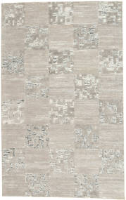 Handtufted Rug 154X250 Modern Light Grey/Light Brown (Wool, India)