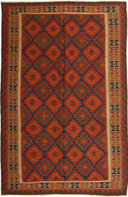 Kilim Maimane Rug 194X296 Authentic  Oriental Handwoven Rust Red/Dark Red (Wool, Afghanistan)