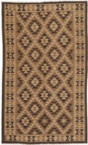 Kilim Maimane Rug 147X244 Authentic  Oriental Handwoven Brown/Light Brown/Dark Brown (Wool, Afghanistan)