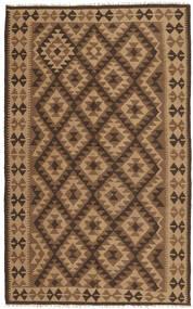 Kelim Maimane Matta 151X250 Äkta Orientalisk Handvävd Brun/Ljusbrun/Mörkbrun (Ull, Afghanistan)