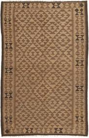 Kilim Szőnyeg 152X247 Keleti Kézi Szövésű Barna/Világosbarna (Gyapjú, Perzsia/Irán)