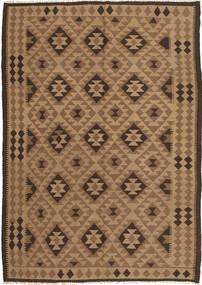 Kelim Tæppe 172X247 Ægte Orientalsk Håndvævet Lysebrun/Brun (Uld, Persien/Iran)