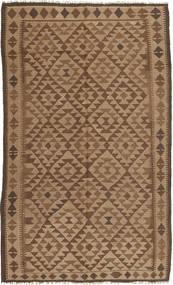 Kilim Rug 149X250 Authentic  Oriental Handwoven Brown/Light Brown (Wool, Persia/Iran)