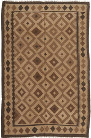 Kilim Rug 153X235 Authentic  Oriental Handwoven Brown/Light Brown (Wool, Persia/Iran)