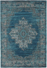Vintage Vega - Petrol/Turquoise Rug 160X230 Modern Dark Blue/Light Grey ( Turkey)