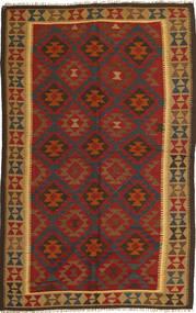 Kilim Maimane Rug 151X247 Authentic Oriental Handwoven Rust Red/Brown (Wool, Afghanistan)