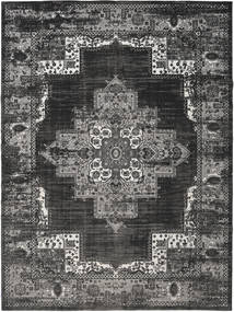 Vintage Vega - Anthracite/Grey Rug 300X400 Modern Dark Grey/Black Large ( Turkey)