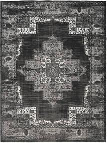 Vintage Vega - Anthracite / grau Teppich RVD19089
