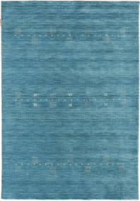 Loribaf Loom Eta - Bleu Tapis 120X180 Moderne Bleu/Bleu Turquoise (Laine, Inde)